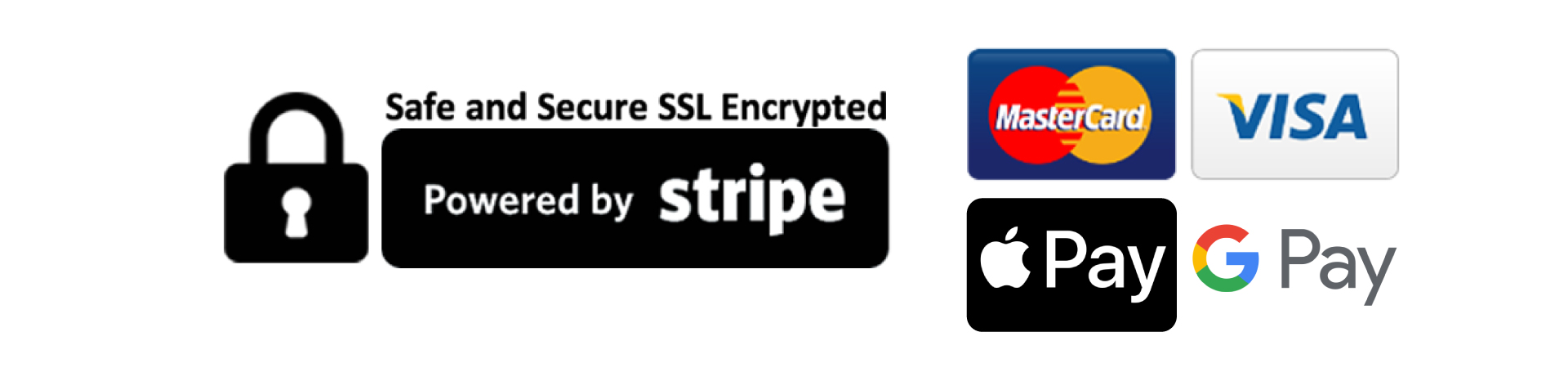 Secure payments powered by stripe1