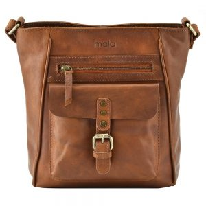 Mala Lauriston Cross Body Bag 7169 34 Tan