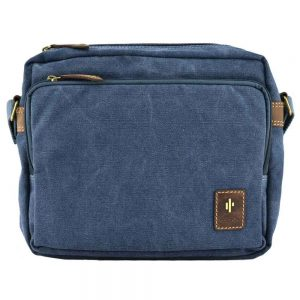Cactus Zip Top Organiser Bag 828 81 Denim
