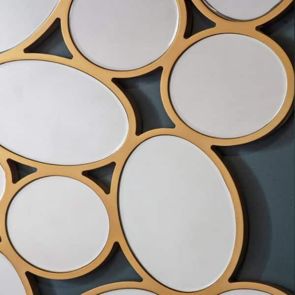 Cobbleston Ovals Mirror