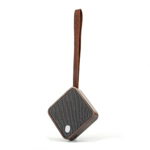 G005-WNT - MI SQUARE Speaker Walnut
