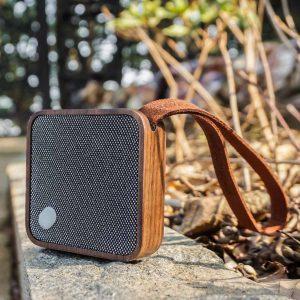 G005-WNT - MI SQUARE Speaker Walnut