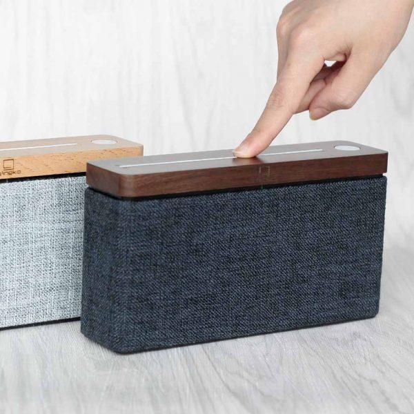G009-WNT-Gingko-HiFi-Square-Speaker-Walnut