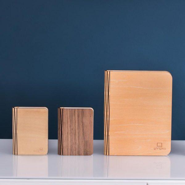 GK12-ME-L Large Smart BookLight - Maple