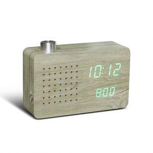 GK16-AH - Radio Click Clock - Ash