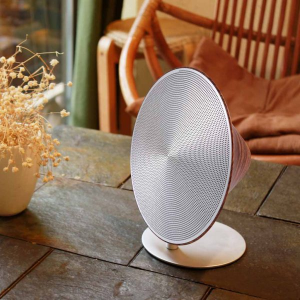 GK26-WNT - Halo One Bluetooth Speaker - Walnut