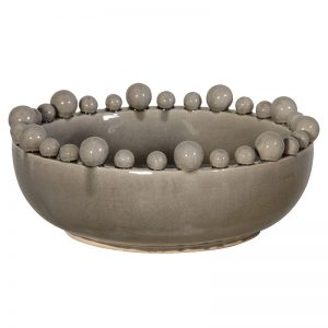 Grey Table Bowl
