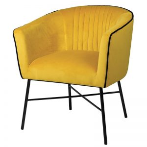 Mustard Side Chair
