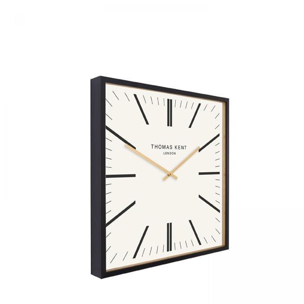 "16"" Garrick Wall Clock White"