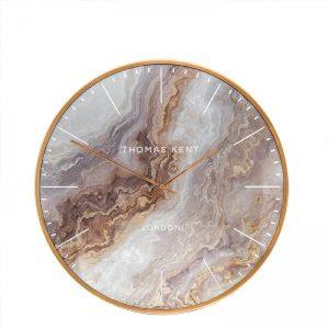 "16"" Oyster Wall Clock Bronze"