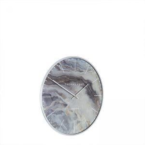 "16"" Oyster Wall Clock Glacier"
