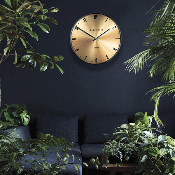 """21"""" Jewel Wall Clock Citrine"""