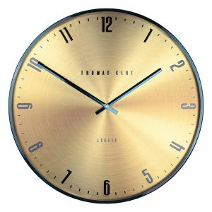 "21"" Jewel Wall Clock Citrine"