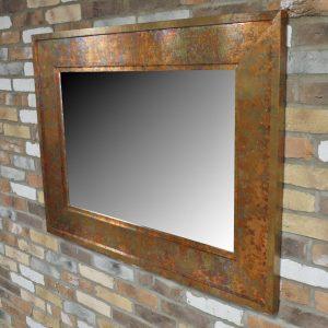 Copper Mottled Mirror