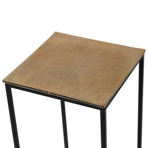 Large Champ iron Side Table 2