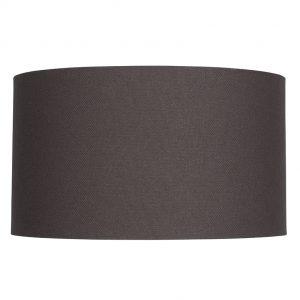 30cm Grey Handloom Cylinder Shade