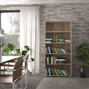 Prima Bookcase with 4 Shelves