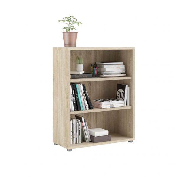 Prima Bookcase with 2 Shelves