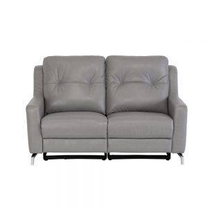 Windsor-leather-2-seater-recliner-grey1