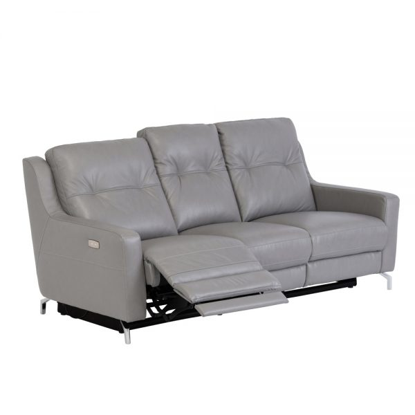 Windsor-leather-3-seater-recliner-grey