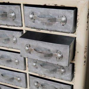 Industrial Storage Unit w/Mini Drawers