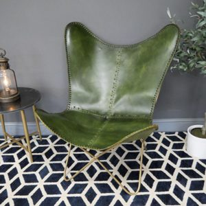 Butterfly Green Side Chair