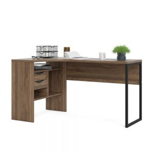Function Plus Desk Walnut