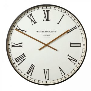 21 Clocksmith Wall Clock Black