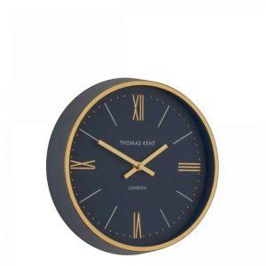 10'' Hampton Wall Clock Navy