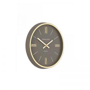 10'' Hampton Wall Clock Taupe