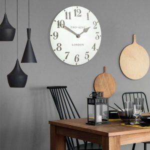 "20"" Arabic Wall Clock-Limestone"