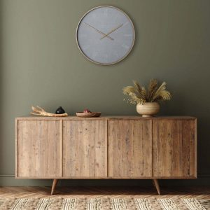 21'' Nordic Wall Clock Cement
