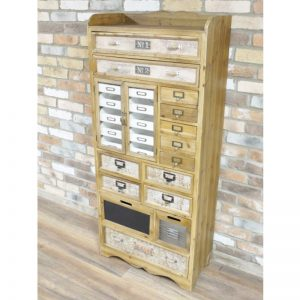 696002 Tall Large Cabinet With Multi Drawers