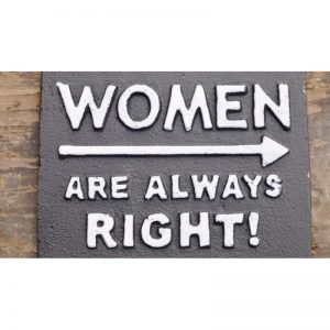 696045 Sign 'Women Right'