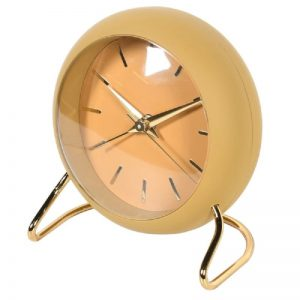 Yellow and Gold Alarm Clock