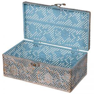 Antique Style Filigree Box
