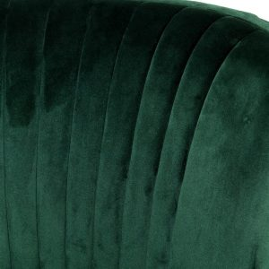 Basil Green Accent Chair