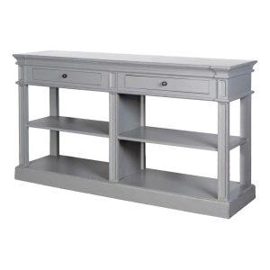 Grey Fayence Shelf Buffet