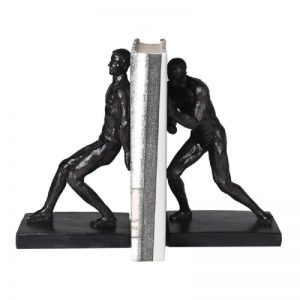 Black Push/Pull Bookends