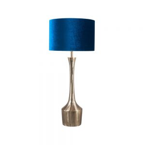 Parsons Shiny Gold Tall Neck Metal Table Lamp
