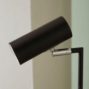 Arris Black Task Table Lamp