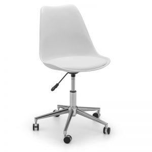 Erika White Office Chair
