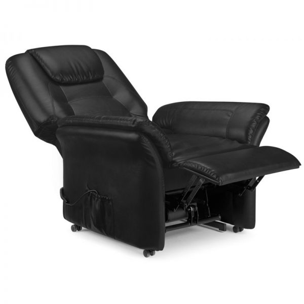 Maria Rise and Recliner Black