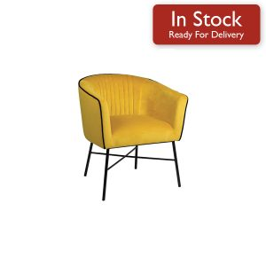 Mustard Side Chair Updated
