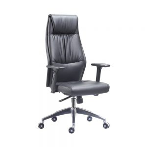 BC-1260-Executive-Chair-with-Aluminium-Spider-Base-and-Height-Adjustable-Arms