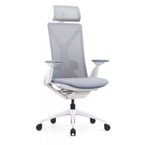 Fercula-Ergonomic-Task-Chair-in-White-with-Headrest