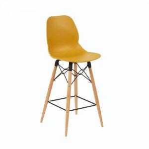Shoreditch-bar-stool-with-beech-frame-in-mustard