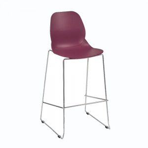 Shoreditch-bar-stool-with-steel-frame-in-plum