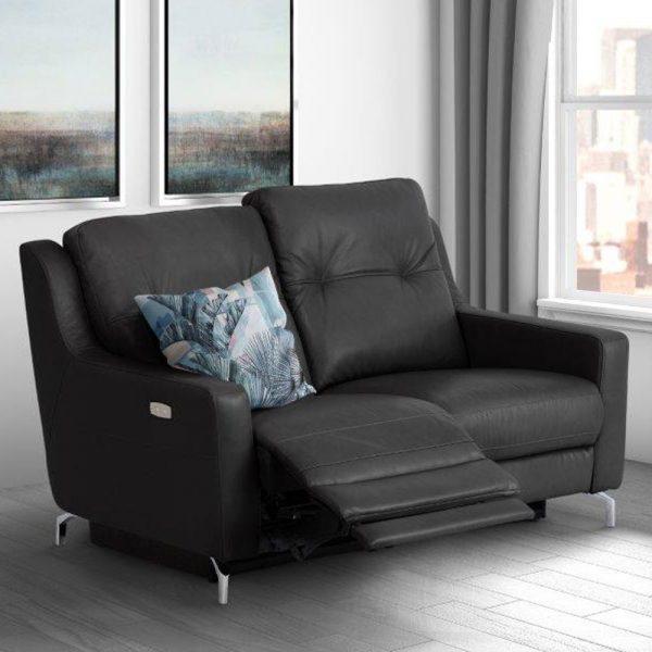 Warren-leather-2-seater-recliner-black
