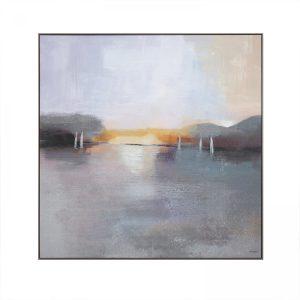 667170 Sunset At Sea